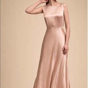 "BHLDN ""Alexia"" dress in oyster size small"